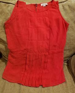 3/$30 💎 Ladies Red Sleeveless Shirt